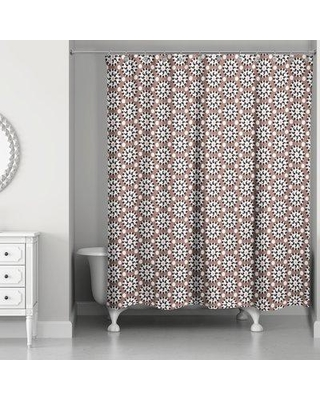 Summer Sale: Bungalow Rose Rickman Polka Dots Shower Curtain ...