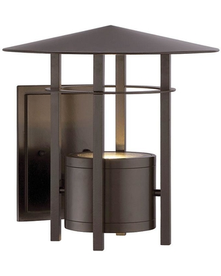 Designers Fountain Englewood Burnished Bronze Outdoor LED Wall Lantern