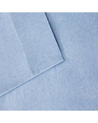 INK+IVY Jersey Knit Sheets, Blue, Queen