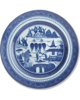 Mottahedeh Salad Plate, Blue Canton