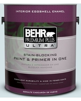 Amazing Deal On Behr Ultra 1 Qt Ppl 72 Spa Retreat Extra Durable Flat Interior Paint And Primer In One