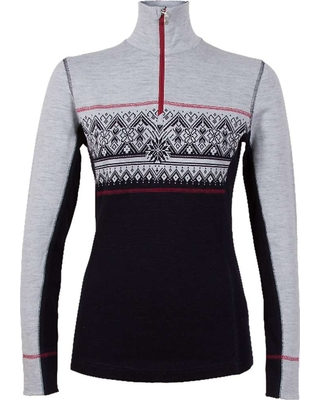 acd0e2ee436c Dale Of Norway Women s Rondane Feminine Sweater - Large - Navy   White    Raspberry
