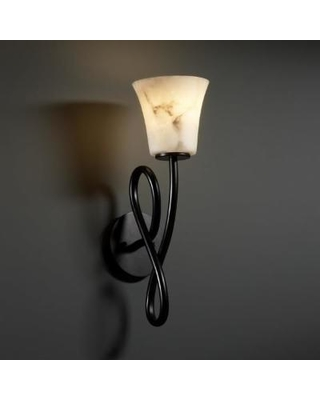 Justice Design Group Lumenaria 18 Inch Wall Sconce - FAL-8911-20-MBLK