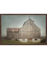 """Gracie Oaks 'Ancienne Grange' Framed Photographic Print On Paper GRCS1103 Size: 12"""" H x 18"""" W"""
