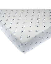 Glenna Jean Little Sail Boat Fitted Crib Sheet 16210