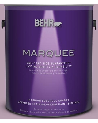 BEHR MARQUEE 1 gal. #S110-4 Highland Thistle One-Coat Hide Eggshell Enamel Interior Paint and Primer in One