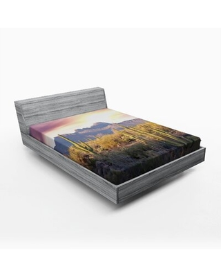 Arizona Fitted Sheet East Urban Home Size: Queen