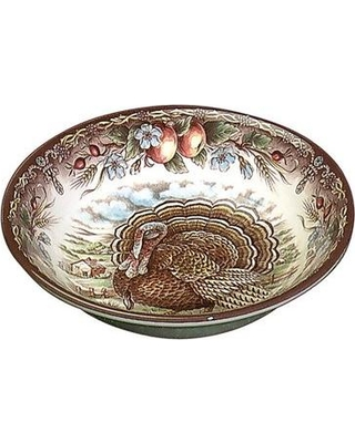The Holiday Aisle® 8 oz. Turkey Cereal Bowl (Set of 4) UIMB6867