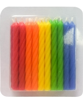 20 ct Classic Colors Birthday Candles - Spritz, Multi-Colored