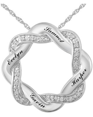 Mother's Circle Necklace