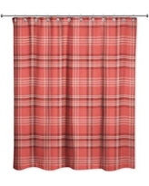 Gracie Oaks Patridge Plaid Shower Curtain GRCS1317