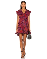 Free People Sunny Days Mini Dress in Purple. - size S (also in M, XS)