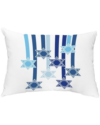 Adams Shooting Stars Indoor/Outdoor Lumbar Pillow The Holiday Aisle Color: White