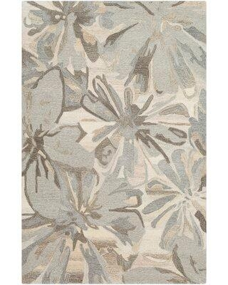 Canora Grey Scarberry Handmade Tufted Wool Taupe Area Rug ZB75608 Rug Size: Rectangle 10' x 14'