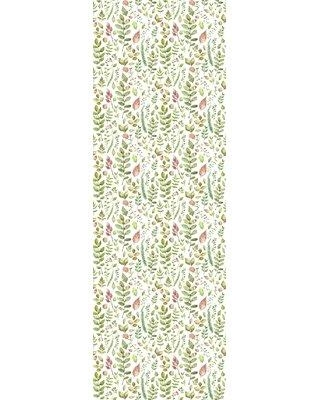 "Bungalow Rose Sue Removable Ferns and Leave 8.33' L x 25"" W Peel and Stick Wallpaper Roll W000651094"