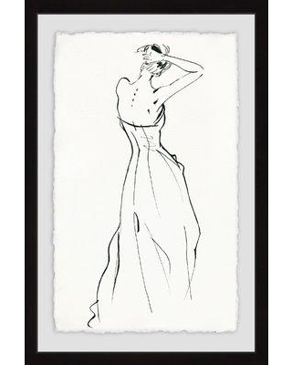 """House of Hampton 'Sexy Back II' Framed Acrylic Painting Print HMPT1034 Size: 36"""" H x 24"""" W"""