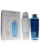 Lancome Your Douceur Cleansing Duo (Includes Gentle Makeup Remover Milk and Softeninh Hydrating Toner 400 ml/13.5 oz Each)