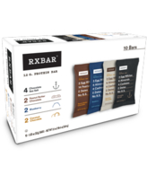 RXBAR Protein Bars, 4 Flavors, Variety Pack, 10 Ct, 1.83 Oz.