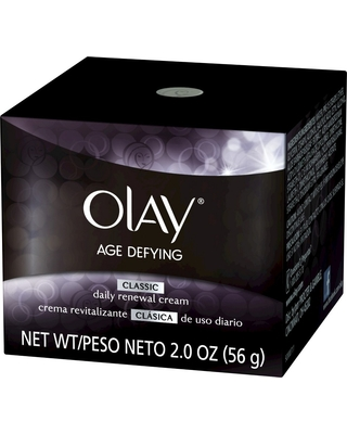 Olay Age Defying Daily Renewal Cream Replenishes & Hydrates Dull Dry Skin 2oz LOreal Paris Age Perfect Cell Renewal Day Cream SPF 15