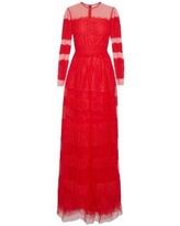 Long Dress - Red - Mikael Aghal Dresses