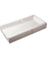 Sealy Soybean Comfort 3-Sided Contoured Changing Pad, White
