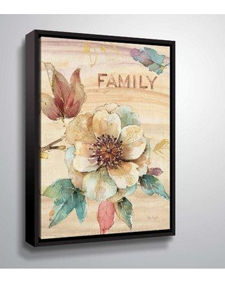 """Ophelia & Co. 'Spiced Nature IV Marble' Graphic Art Print OPCO4995 Format: Black Framed Size: 18"""" H x 24"""" W x 2"""" D"""