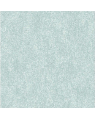 Amazing Savings On Brewster Ludisia Teal Brushstroke Texture Paper Strippable Wallpaper Covers 56 4 Sq Ft Blue