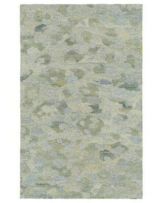"""Ebern Designs Mersin Camouflage Hand-Tufted Wool Beige Area Rug W002385898 Rug Size: Rectangle 9'6"""" x 13'"""