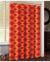 LauralHome Ikat Shower Curtain OI74SC