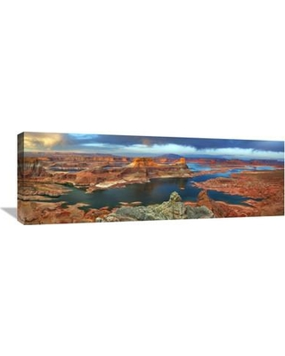 Global Gallery 'Alstrom Point at Lake Powell Utah USA' by Frank Krahmer Photographic Print on Wrapped Canvas GCS-463704-1236-142