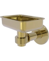 Allied Brass Continental Soap Dish 2032G Finish: Unlacquered Brass