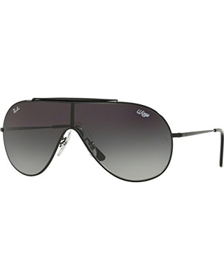 4b91575694 ... uk ray ban 0rb3597 aviator sunglasses black 0 mm 12ddc a6804