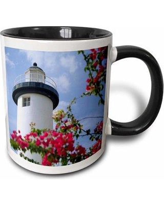 East Urban Home Puerto Rico Viegues Island Lighthouse of Rincon Janyes Gallery Coffee Mug W000116276