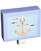 """Oopsy Daisy Redbeard and Crew Night Light, Anchors and Sails, 5"""" x 4"""""""
