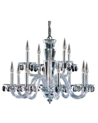 Fanshawe 12-Light Candle Style Classic / Traditional Chandelier with Crystal Accents