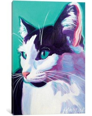 "East Urban Home 'Kitty' Painting Print on Canvas ESUR4728 Size: 26"" H x 18"" W x 1.5"" D"