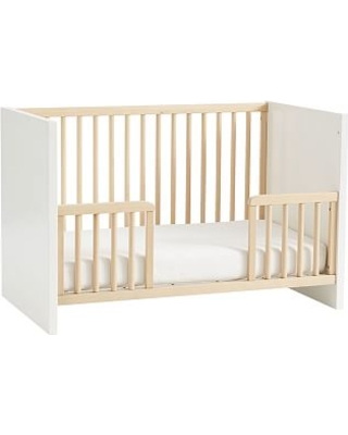 Layton Toddler Bed Conversion Kit, Natural/Simply White, In-Home Delivery