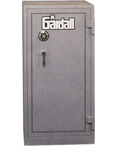 """Gardall 49.5""""H Two Hour Fire Resistant Safe Record 4220 Finish: Gray, Lock: Group II Combination Lock"""