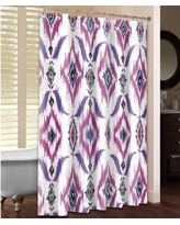LauralHome Ikat Shower Curtain PUI74SC
