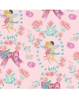 """Coordonne Kissing the Sky 33' x 18.9"""" Wallpaper Roll 5900072 Color: Rosa"""