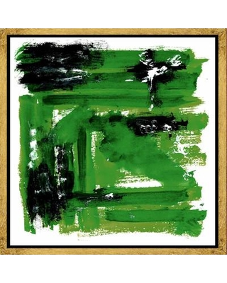 PTM Images Emerald II Framed Graphic Art on Canvas 9-6782B