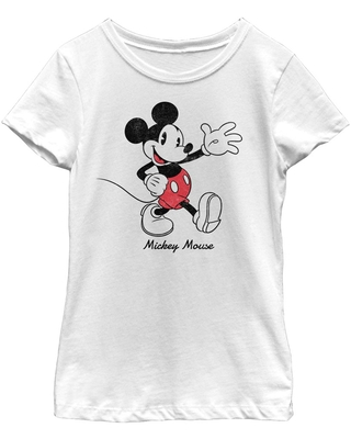 Disney Mickey Mouse Mickey Youth Girls T-Shirt