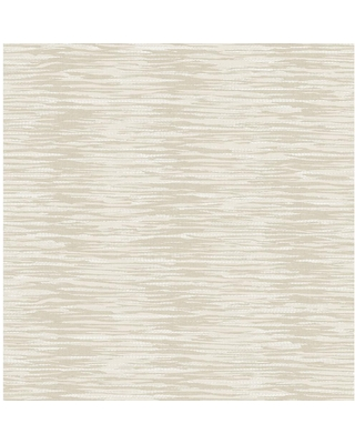 MANHATTAN COMFORT INC Atherton, Beige Morrum Abstract Texture Paper Strippable Wallpaper Roll (Covers 56.4 sq. ft.)