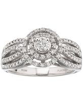 I Said Yes 1/2 CT. T.W. Certified Diamond Engagement Ring, 9 , White