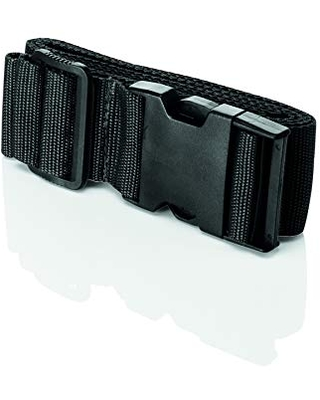 Travel Smart by Conair Luggage Strap Suitcase Belt Travel Accessories, Black