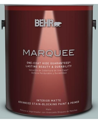 BEHR MARQUEE 1 gal. Home Decorators Collection #HDC-CT-26 Watery One-Coat Hide Matte Interior Paint & Primer