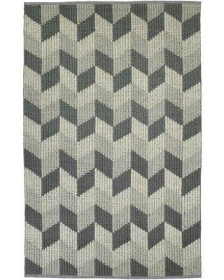 Wrought Studio Stockstill Hand-Tufted Wool Gray/Graphite Area Rug CG190758 Rug Size: Rectangle 2' x 3'