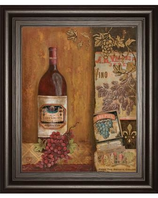 Classy Art Wholesalers Vintage Red by Tava Studio Framed Painting Print 4764