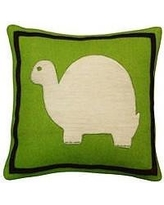 Amity Home Turtle Wool Throw Pillow SG115