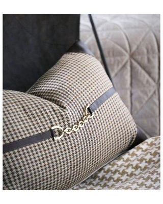 Eastern Accents Edward Houndstooth Lumbar Pillow 7W-ATE-680